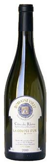 La Coudee d Or Blanc Domaine Viret 2009 75cl