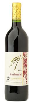 Frey Organic Zinfandel 2013 Sulphite free natural wine